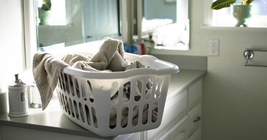 Wash Bedding with Natural Detergent